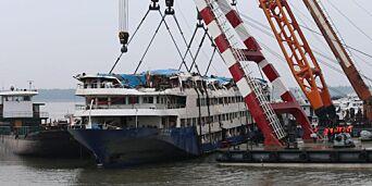 image: 431 bekreftet omkommet etter båtulykken i Kina
