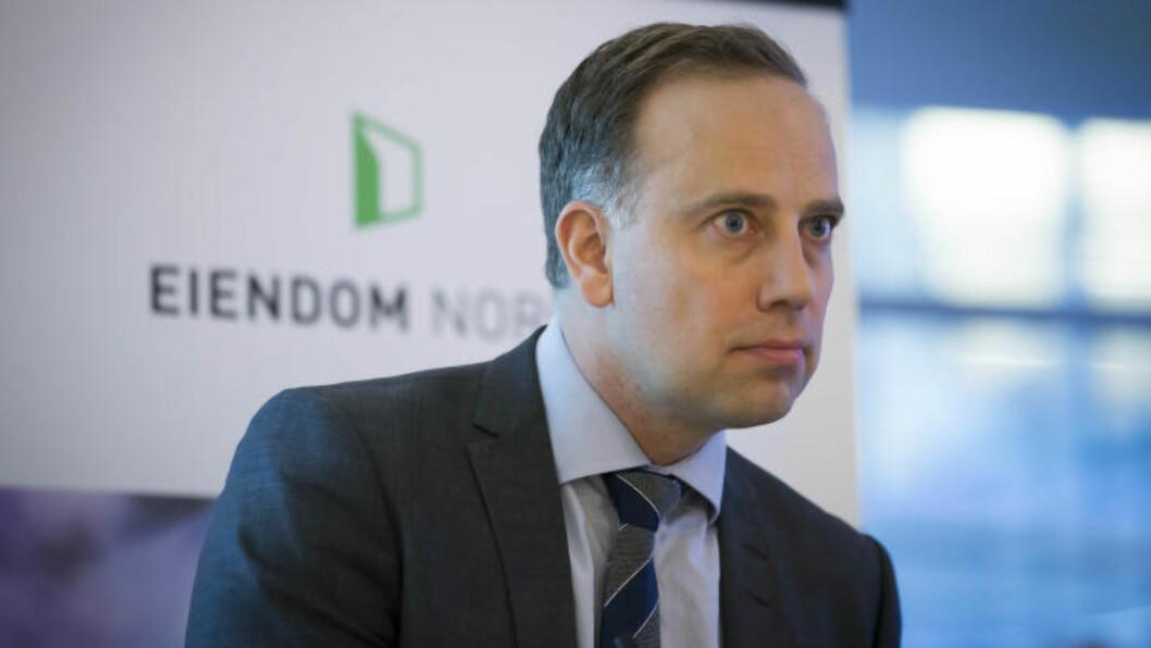 <strong>BOLIG:</strong> Administrerende direktør i Eiendom Norge, Christian Vammervold Dreyer, konstaterer at boligprisene fortsetter å stige kraftig. Foto: Heiko Junge / NTB scanpix