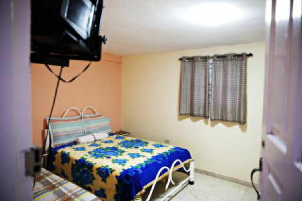 ROM TIL LEIE 100 meter fra Cohiba, reklamerer utleierne av dette rommet. Foto: NINA HANSEN