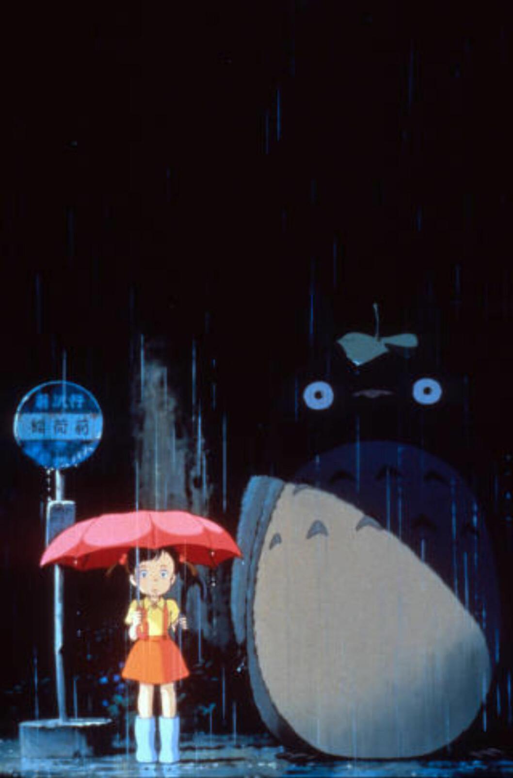 LODDEN: Men Totoro er også delvis uleselig, som en slags gla'versjon av Hufsa i Mummitrollet.