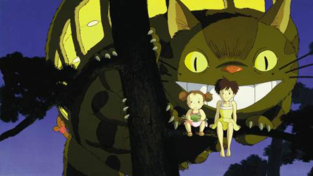 KATTEBUSSEN: En buss, i form av en katt, dukker også opp i løpet av filmen.