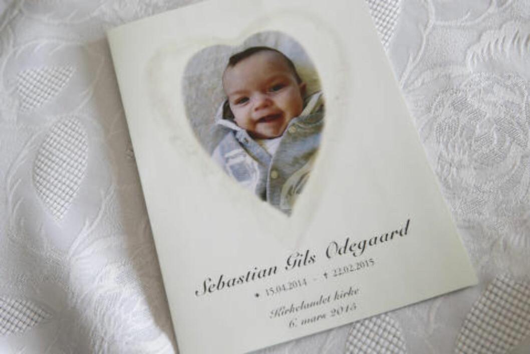 15.04.2014 - 22.02.2015: Sebastian Gils Ødegaard ble bare ti måneder gammel. Foto: Heiko Junge / NTB Scanpix