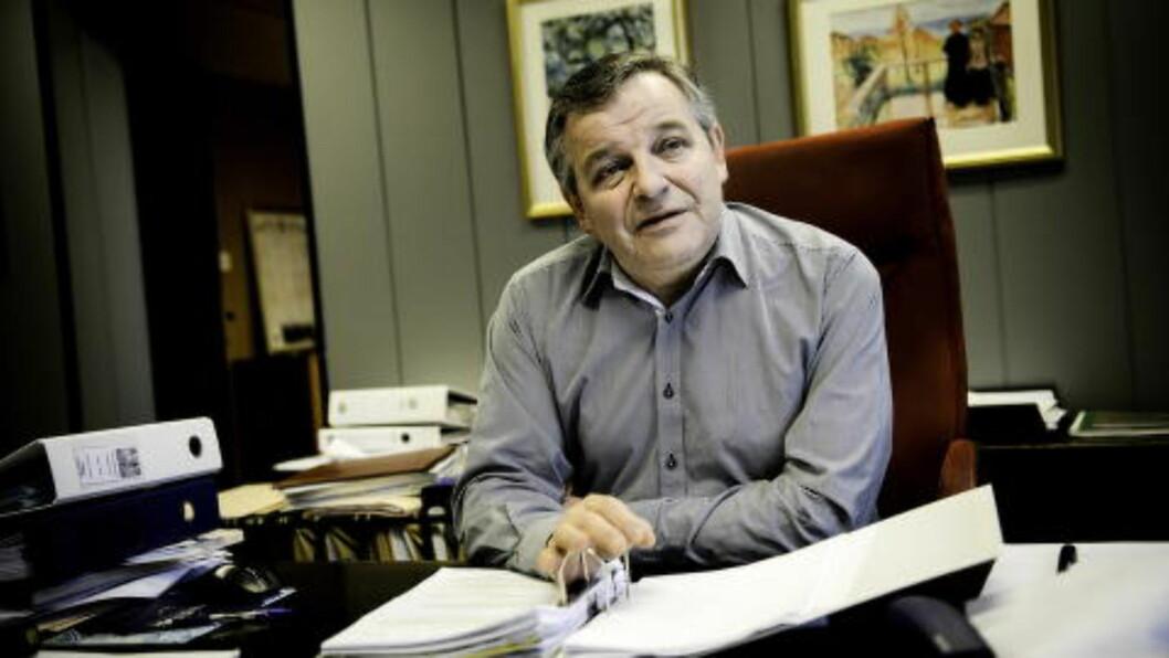 REPRESENTERER FAMILIEN: Advokat Edvard T. Eide.  Foto: John T. Pedersen / Dagbladet