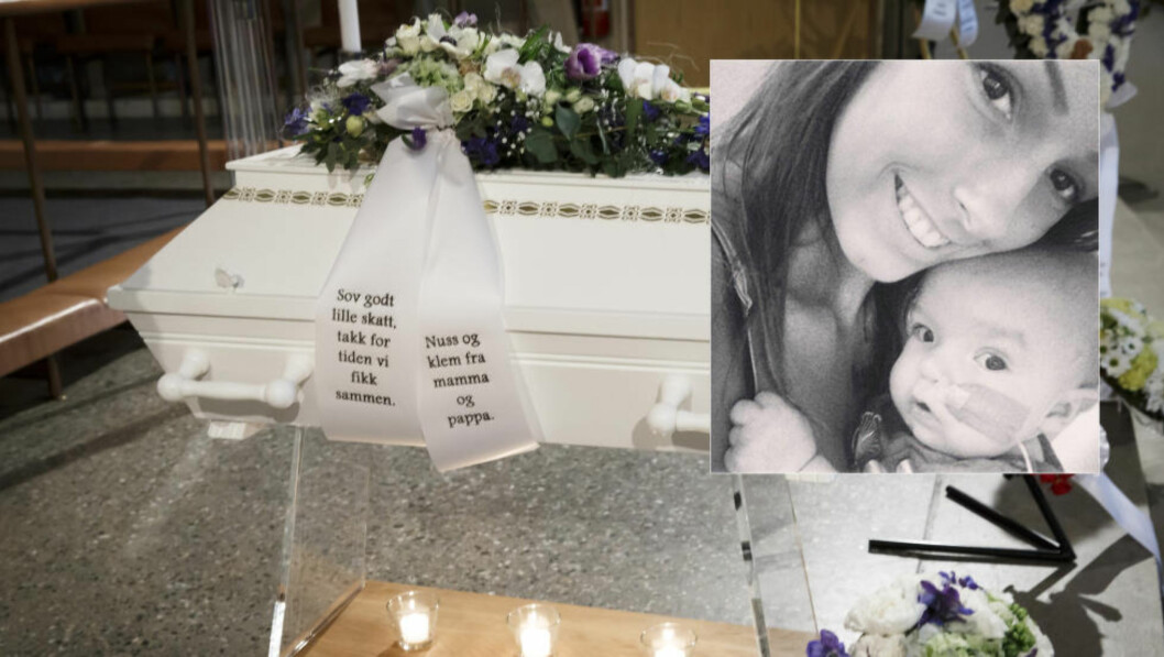 ET SISTE FARVEL: Sebastian Gils Ødegaard begraves fredag formiddag i Kirkelandet kirke i Kristiansund. Foto: Heiko Junge / NTB Scanpix / Privat, med familiens tillatelse