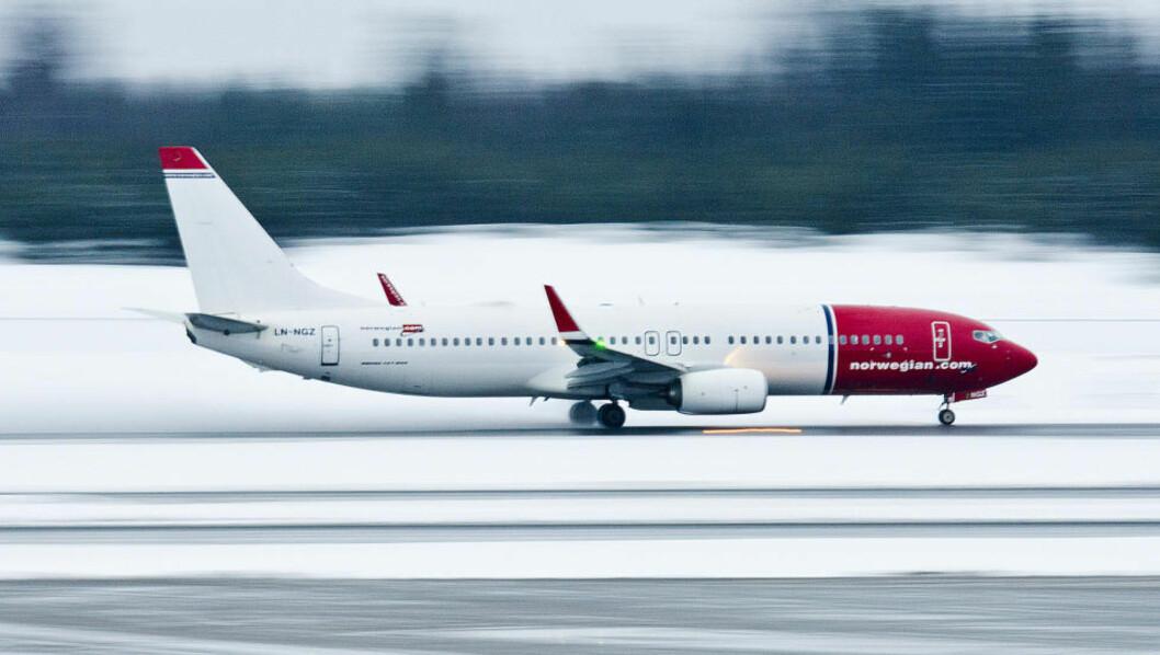 <strong>I STREIK:</strong> 650 Norwegian-piloter er tatt ut streik. Det rammer innenlandstrafikken i Norge, Sverige og Danmark - og flygingene mellom de tre landenes hovedsteder. Anslagsvis 100 000 passasjerer er til nå rammet. Foto: JON OLAV NESVOLD / NTB SCANPIX