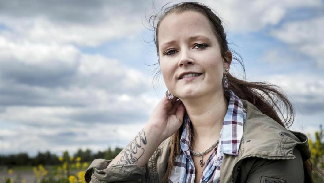 <strong>VIL HJELPE ANDRE:</strong> Mari Thune Heiberg (27) har slitt med lav selvfølelse og vil bruke livet sitt på å hjelpe andre. Foto: Øistein Norum Monsen / Dagbladet