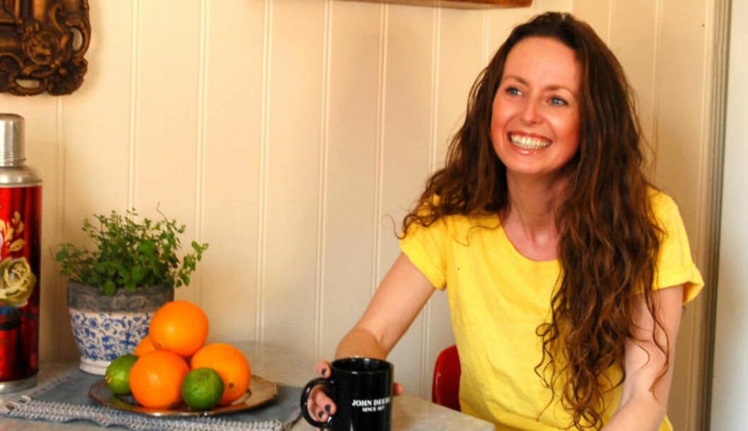 <strong>RABARBRAFAN:</strong> Matblogger og ernæringsfysiolog Lise von Krogh. Foto: JOHN HARALD KNUTSSON