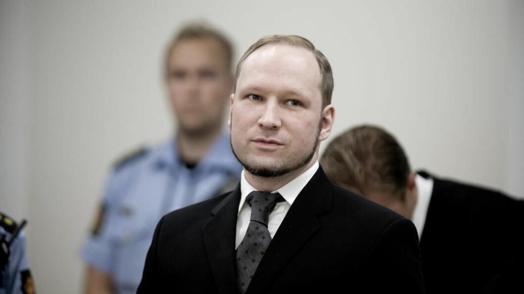 <strong>SØKER PLASS:</strong> Massedrapsmann Anders Behring Breivik har søkt seg til studier i statsvitenskap ved Universitetet i Oslo. Professor Torkel Brekke sier han ikke kunne forholdt seg til en person som Breivik. Foto: Bjørn Langsem / Dagbladet