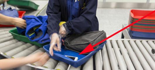 Tyver på flyplassen: Ikke gjør denne tabben i sikkerhetskontrollen