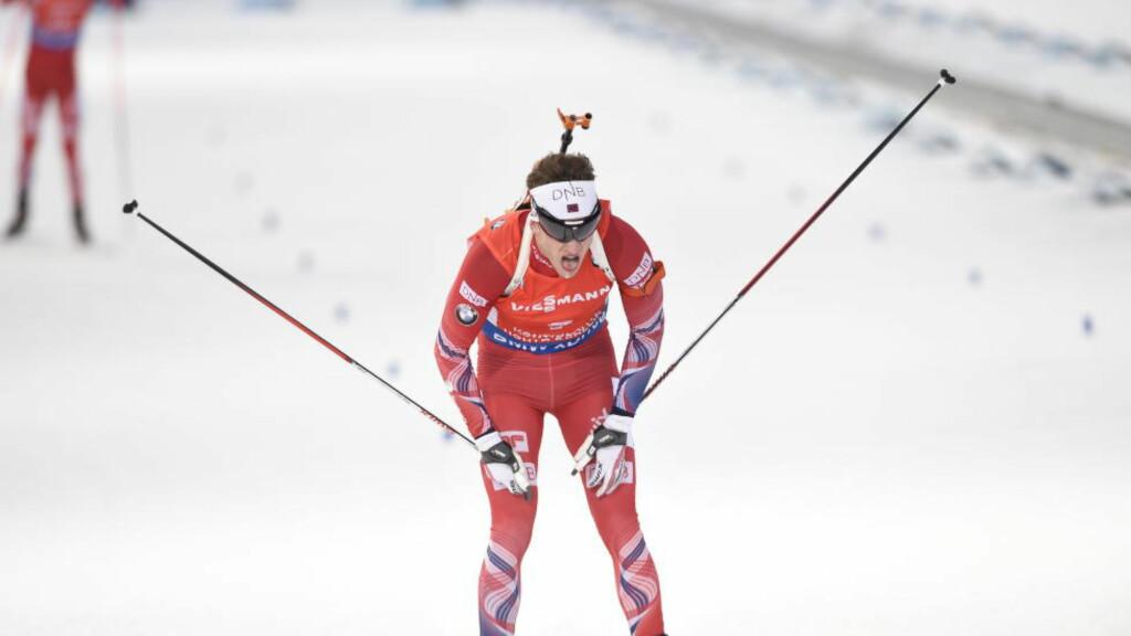 NY BRONSE: Tarjei Bø tok nok en bronsemedalje på skiskytter-VMs siste dag. Foto:John T.Pedersen / Dagbladet