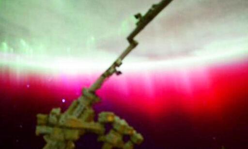 image: ISS-astronaut: - Dette har jeg aldri sett før