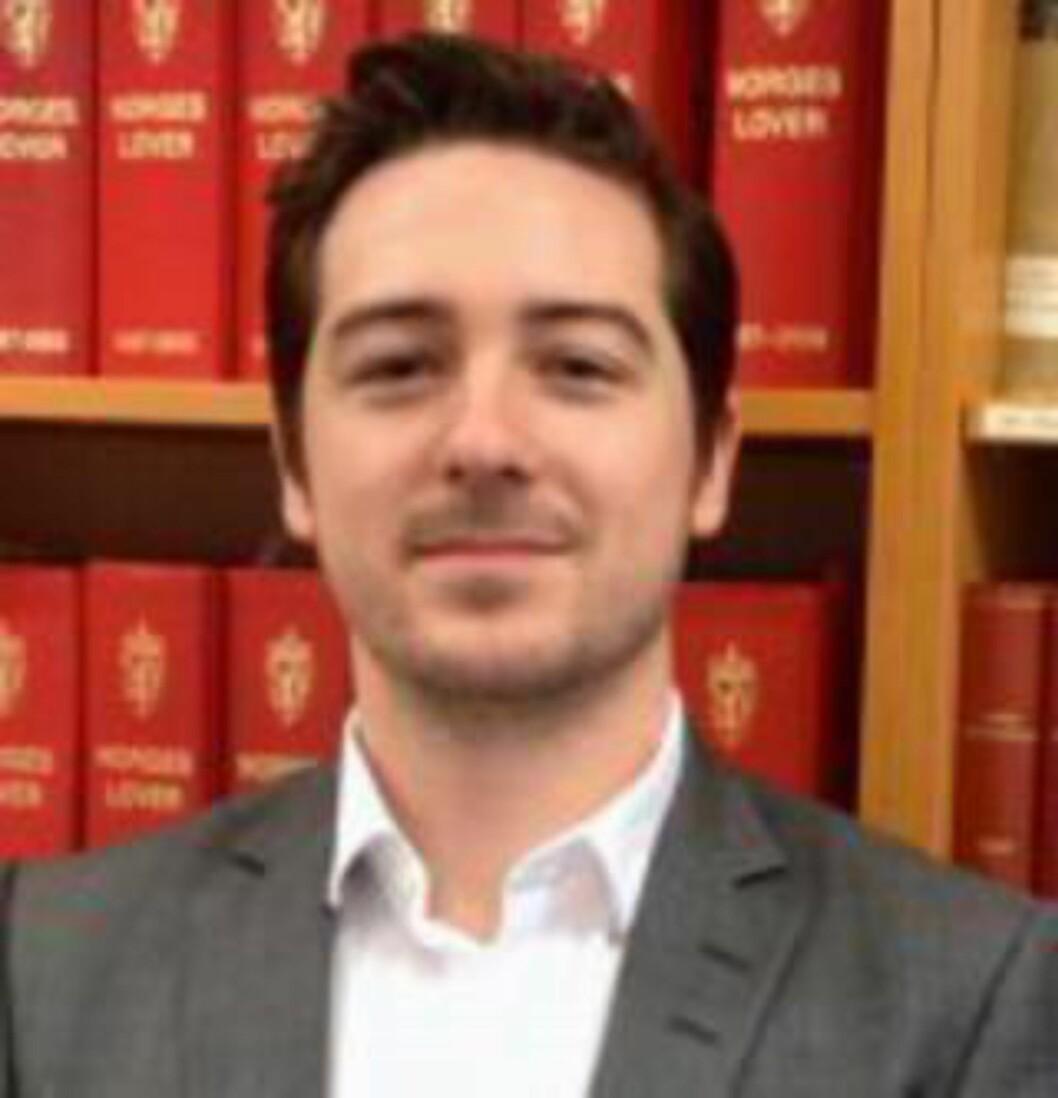 <strong>DIREKTE HELSESKADELIG:</strong> Advokatfullmektig Haakon Åsli Skogstad har en klient på Trandum som ifølge ham utelukkende har levd på ratatouille i 15 måneder.