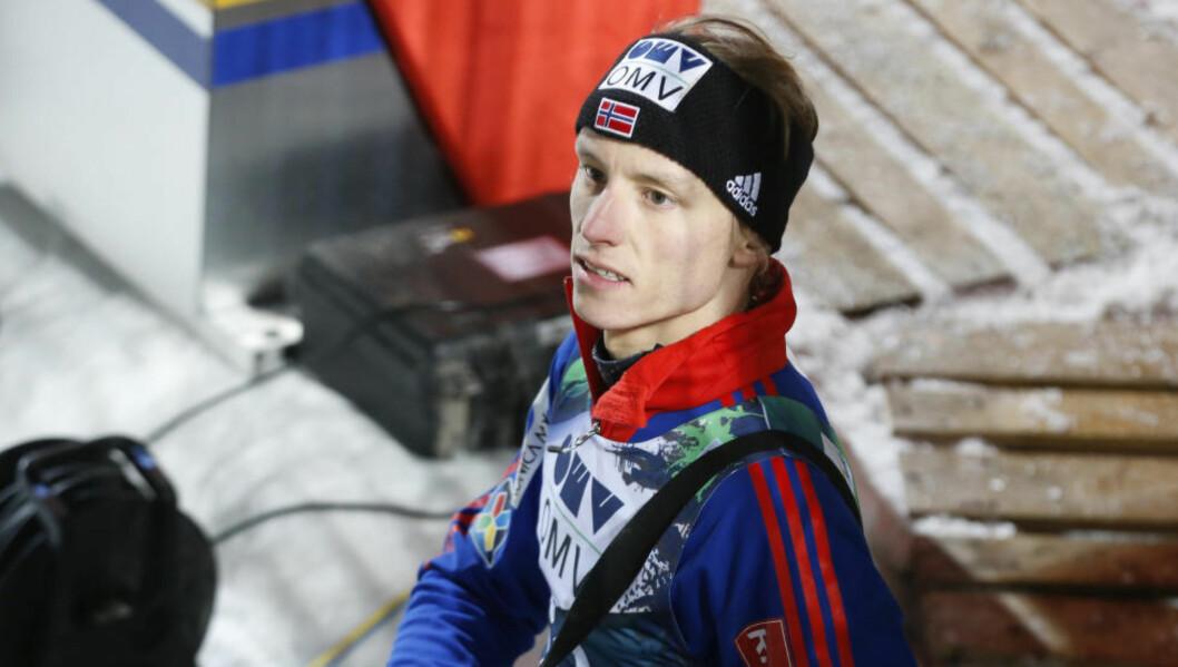<strong>MISTET KONSENTRASJONEN:</strong>  Rune Velta. Foto: Terje Bendiksby / NTB Scanpix