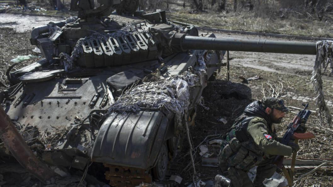 <strong>STRID:</strong> Det er fortsatt uroligheter og kamphandlinger i Ukraina - til tross for at det er våpenhvile mellom Russland og Ukraina. Foto: REUTERS/Marko Djurica