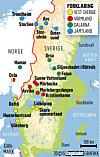 kart over campingplasser sverige Se alt du kan gjøre sammen med familien i Sverige   Dagbladet kart over campingplasser sverige