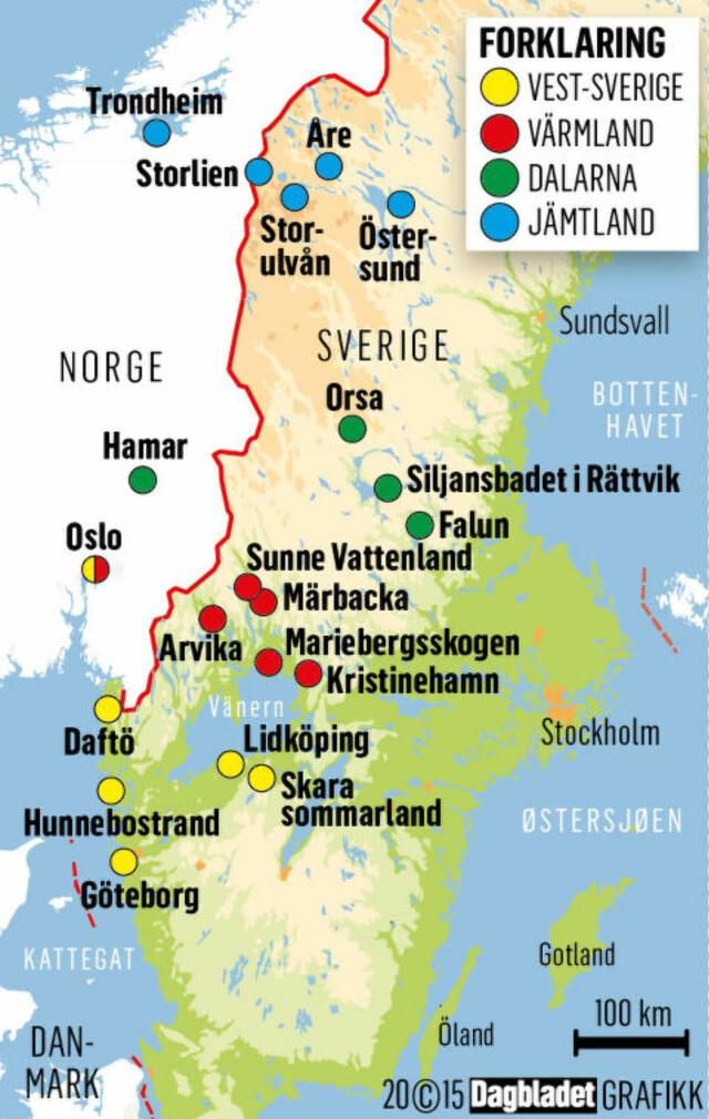 Se Alt Du Kan Gjore Sammen Med Familien I Sverige Dagbladet