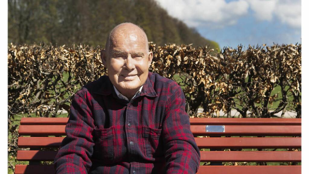 27. APRIL 2015: Kreftsyke Knut Martin Habberstad på favorittbenken sin i Frognerparken. Alle foto: Werne Juvik