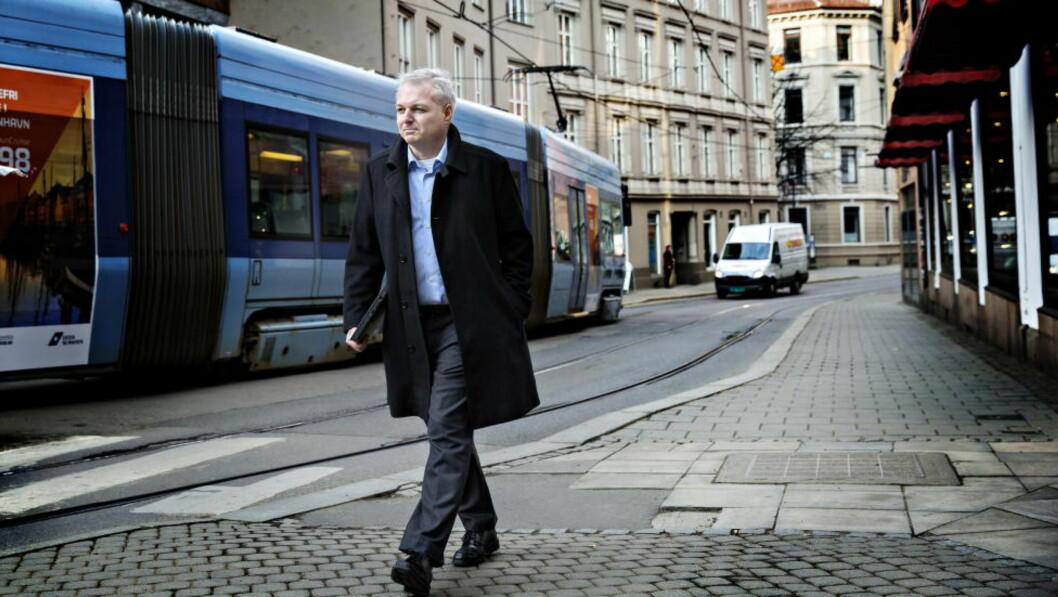 SOM EN ACTIONFILM. Ole Bjørn Fausa opplevde en dag for fem år siden som kunne blitt grunnlag for manus i en actionfilm. Foto: Nina Hansen / Dagbladet