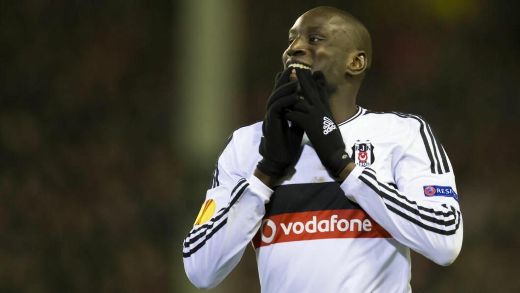 <strong>PRØVER NOE NYTT:</strong> Demba Ba skal spille i kinesisk fotball. Foto: AP / Jon Super NTB Scanpix