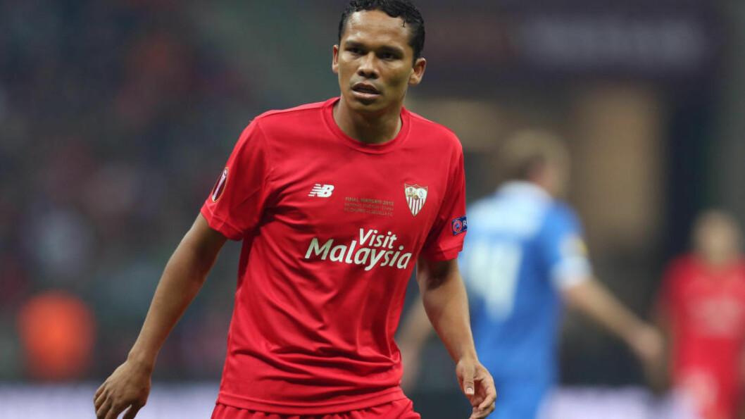 <strong>TIL MILAN:</strong> Den italienske fotballstorheten Milan er enig med Sevilla om en overgang for colombianske Carlos Bacca. Foto: Philip Oldham/Sportimage/Cal Sport Media