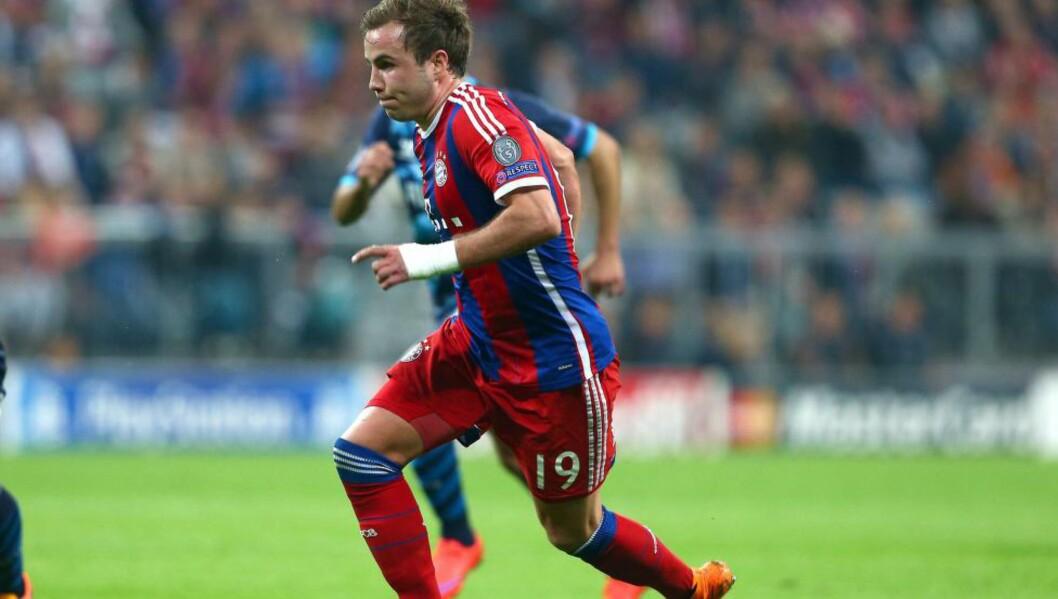 <strong>GAVE:</strong> En frustrert Bayern München-supporter hadde neppe regnet med respons da han la inn en beskjed på klubbens Facebook-side. Det fikk han. Foto: BPI/REX Shutterstock
