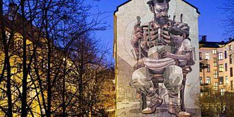 image: - Folk reagerer med en voldsom stolthet over å få noe slikt i gata der de bor