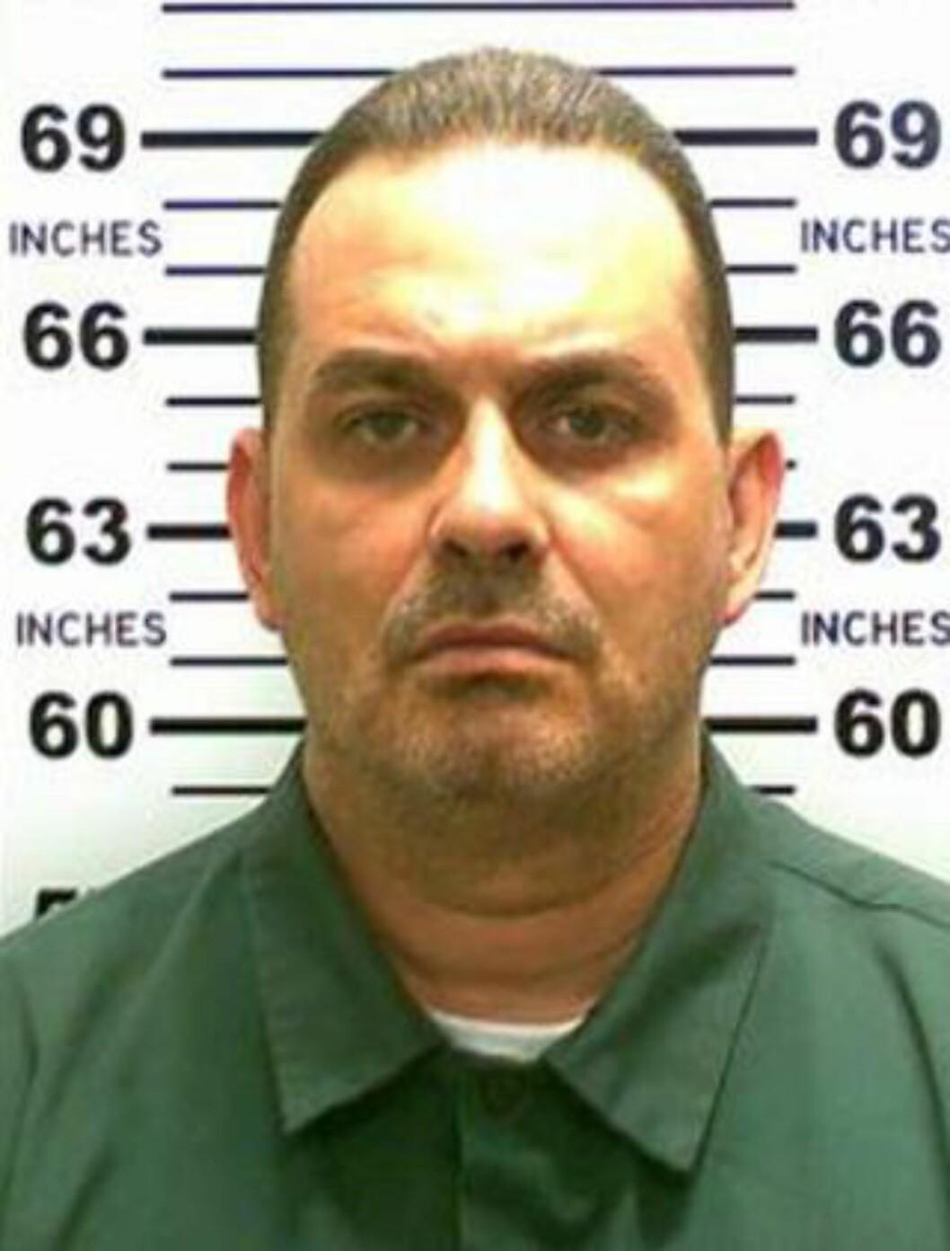 <strong>SKUTT TRE GANGER I HODET:</strong> Richard Matt ble fredag skutt og drept. Foto: AFP
