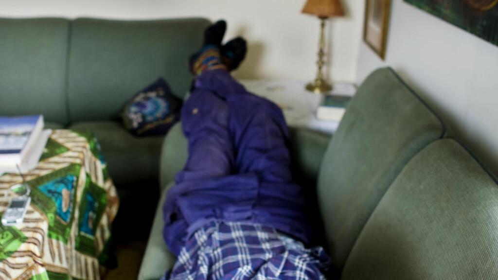 IKKE MANNEN:  Men sofaer, derimot, er mer etterspurt enn noe annet i privatannonser. Foto: Kyrre Lien, NTB Scanpix.