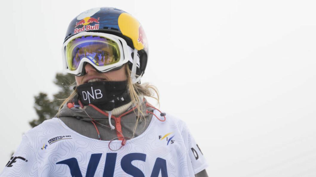 <strong>NY SEIER:</strong> Lørdag gikk  Tiril Sjåstad Christiansen til topps i European Freeski Open. Foto:Skiforbundet / NTB scanpix
