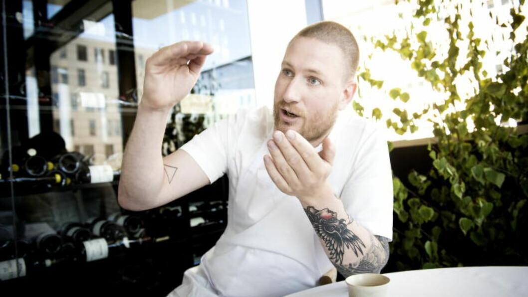 STARTET RESTAURANTEN: Danske Esben Holmboe Bang krever mye av sine ansatte. Foto: John T. Pedersen / Dagbladet
