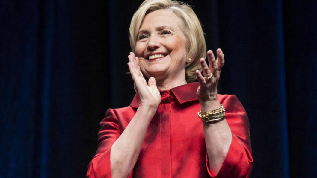 <strong>HÅVER INN:</strong> Den demokratiske presidentkandidaten Hillary Clinton sier hun har samlet inn 45 millioner dollar, drøyt 350 millioner kroner, siden valgkamplanseringen i april. Foto: REUTERS/Joshua Roberts