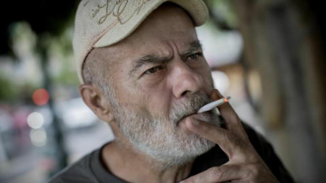 <strong>PENSJONIST:</strong>  Ilias Tsipilis (60) er nylig blitt pensjonist. i Hellas. Foto: Tomm W. Christiansen / Dagbladet