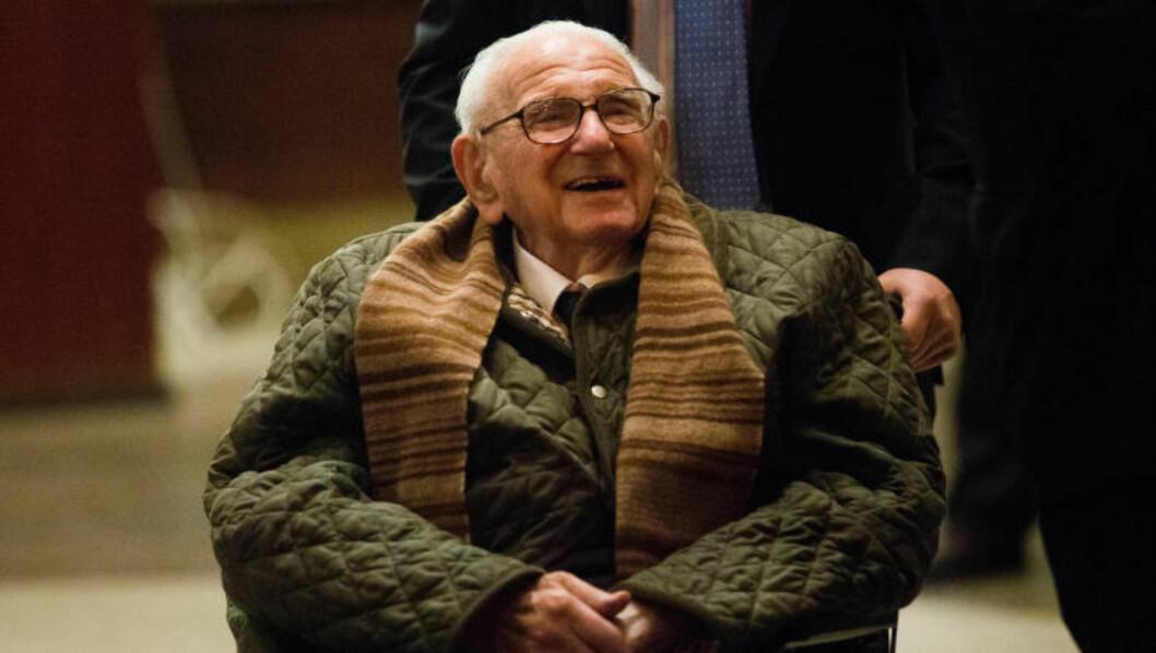<strong> REDNINGSMANN:</strong> 50 år tok det før han fortalte om hans rolle rundt masseredningen av jødiske barn fra det tidligere Tsjekkoslovakia. Foto. Scanpix