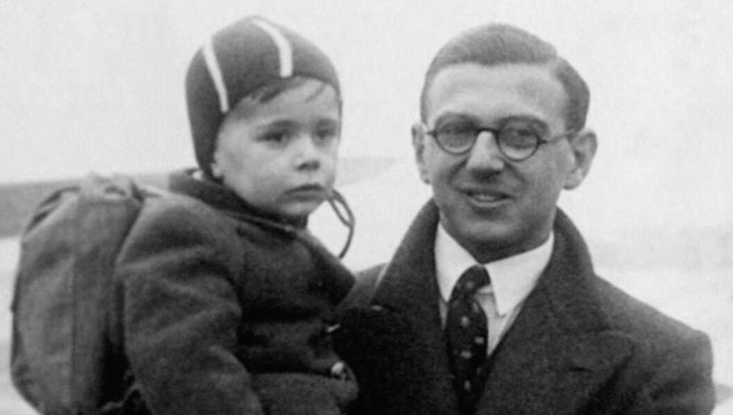 <strong> GIKK BORT I GÅR:</strong>  Nicholas Winton, som reddet hundrevis av jødiske barn fra holocaust, døde i går, opplyste hans familie. Foto: Scanpix