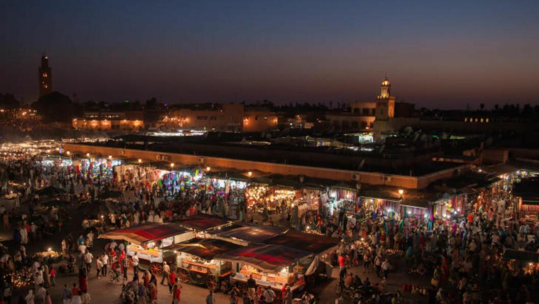 1. MARRAKECH, MAROKKO:  Marrakech topper lista over verdens 25 beste reisemål i Tripadvisors «Travellers' Choice Awards 2015», foran blant annet Siem Reap i Kambodsja og Istanbul i Tyrkia.  Foto: SUPERCAR-ROADRIP.FR / CREATIVE COMMONS