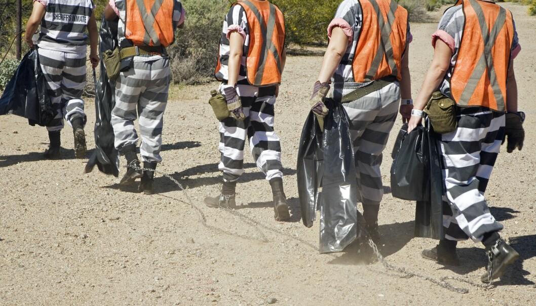 FLERE OG FLERE: Stadig flere kvinner i USA havner bak lås og slå, viser en ny rapport. Foto: NTB Scanpix