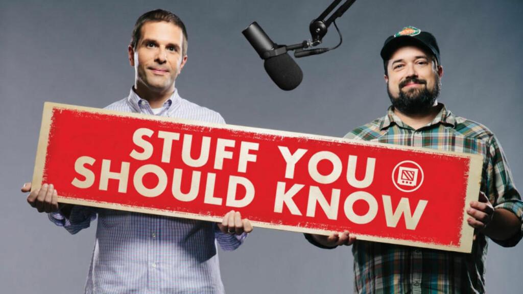 FORENKLER OG FORKLARER: Josh Clark og Charles W. «Chuck» Bryant leder en av nettets mest populære podcaster. Foto: Stuff You Should Know