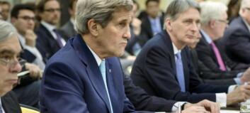 - Atomforhandlingene er i en kritisk og vanskelig fase