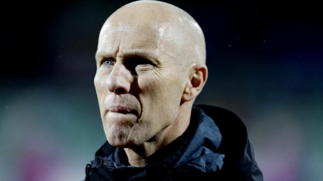<strong>ETTERTRAKTET:</strong>  Stabæks trener Bob Bradley var ønsket av danske AaB - men takket ifølge Stabæk-ledelsen nei til en forespørsel nylig.  Foto: Berit Roald / NTB scanpix