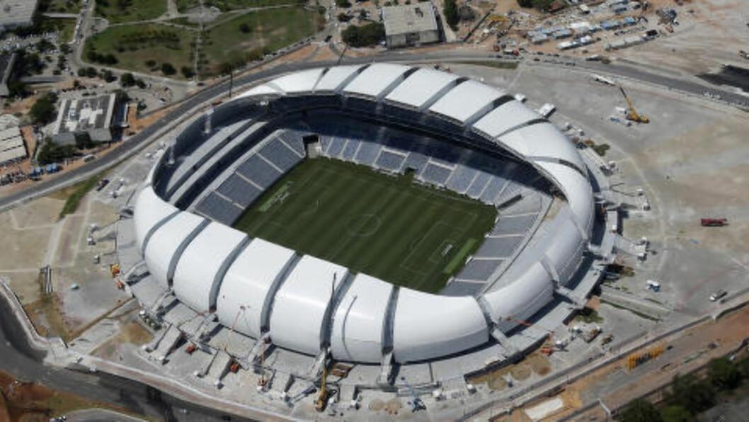 <strong>ARENAS DAS DUNAS:</strong> Arena das Dunas i Natal. Foto: REUTERS/Sergio Moraes