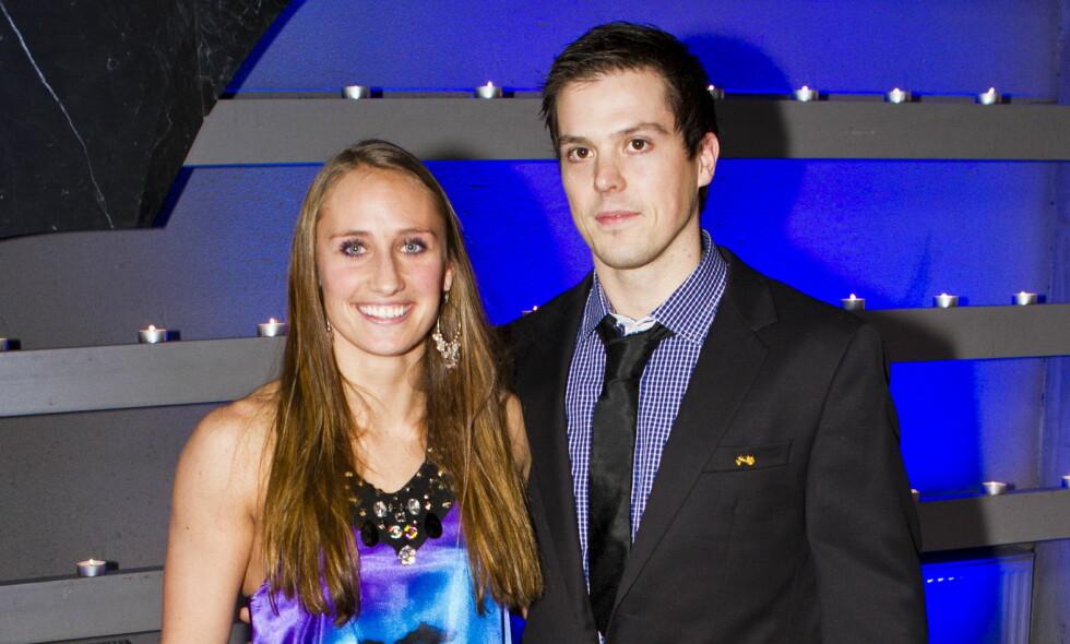 NYBAKTE FORELDRE: Det profilerte håndballparet Camilla Herrem og Steffen Stegavik har blitt foreldre for første gang. Foto: Vegard Grøtt / NTB scanpix