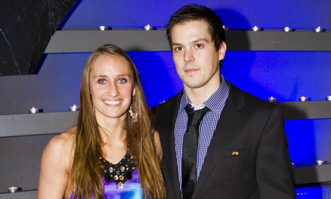 KJENT PAR: Camilla Herrem og Steffen Stegavik har vært sammen i flere år. I 2013 giftet de seg. Foto: Vegard Grøtt / NTB scanpix