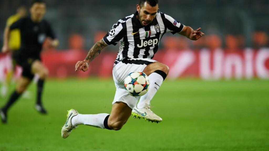 VIL HJEM. Carlos Tevez skal ha ytret ønske om å forlate Juventus etter årets sesong. Han har alltid sagt han vil avslutte karrieren i hjemlandet Argentina. Foto: AFP.