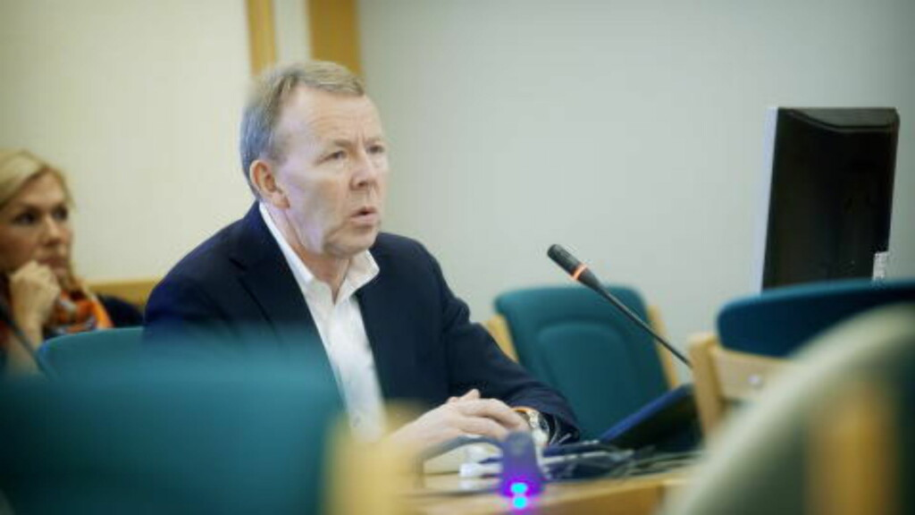 FYRER LØS MOT DAB-MINISTER:  Generalsekretær  Per Morten Hoff i IKT Norge. Foto: Kyrre Lien, NTB Scanpix.