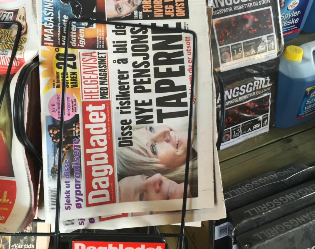 SNUOPERASJON: Dette er ikke en trykkfeil. Foto: Dagbladet