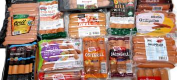 Stor grillpølsetest: Dobbelt så mye fett i taperne