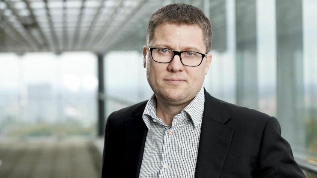 Ringnes-sjef Søren Brinck:  Satser på mikro-øl i Trondheim. Foto: Ringnes.