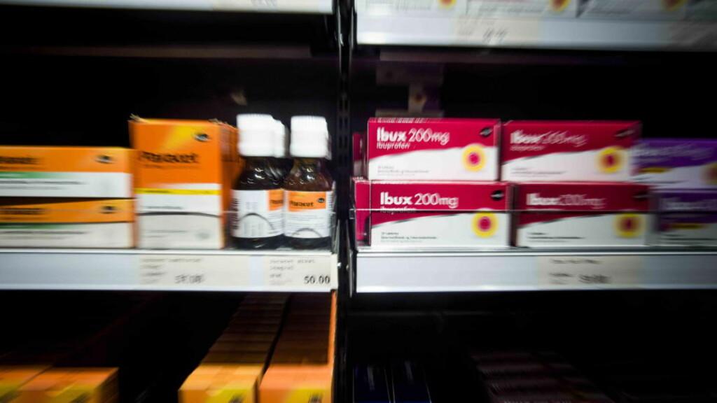 FORTSATT PARACET I NORSKE BUTIKKER.  Sverige stanser salget av paracet i butikk. Dette er ikke aktuelt i Norge, opplyser legemiddelverket. Foto:Thomas Rasmus Skaug / Dagbladet