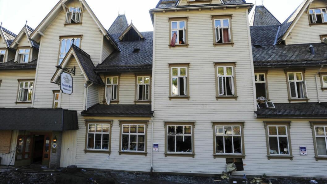 <strong>DRAPSFORSØK:</strong> Kokken tok en kjøttøks og angrep sin sjef ved Fleischer's Hotel på Voss. Foto: NTB Scanpix