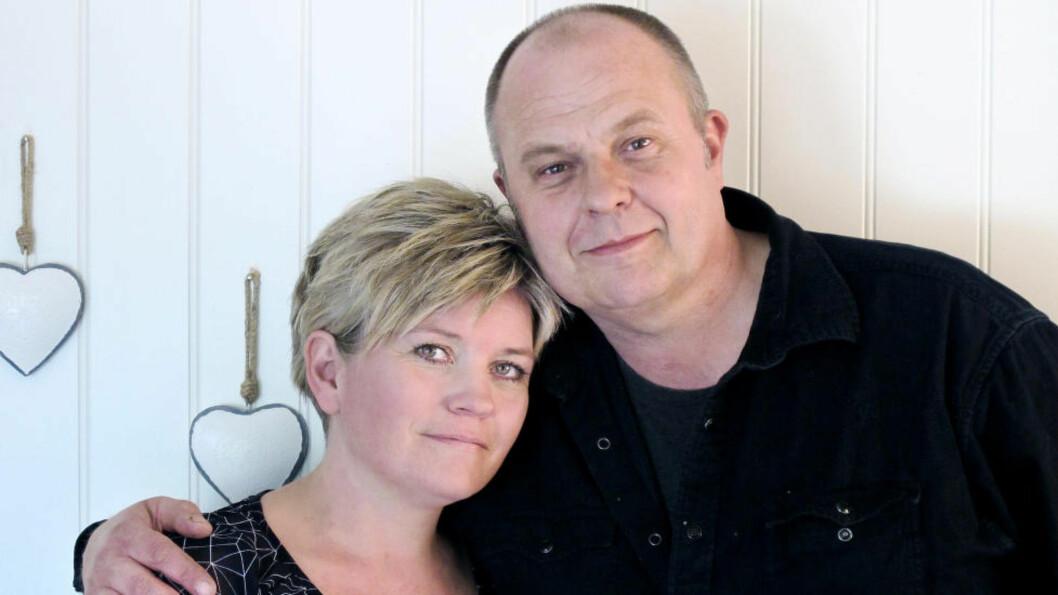 <strong>VARIG HUKOMMELSESTAP:</strong> Etter elektrosjokkbehandling mot depresjon, kunne ikke Steinar hestad (53) en gang huske noe fra dagen han giftet seg med Monica Ørbakk Hestad (40). Foto: Mia Ørbakk Hestad